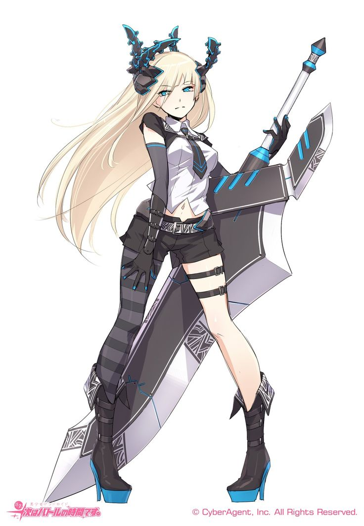 Pin by kaia wallace on anime 11 in 2019 anime anime art - Anime girl with weapon ...