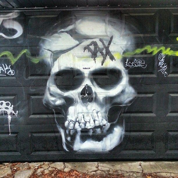 Graffiti in The Annex, Toronto.
