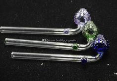 Strawberry Design Glass Oil Burner Pipes Glass Smoking Tubes Tobcco Thick Glass Pipes Clear Joint Fit Rigs Water Bongs Online with $1.81/Piece on Healthy_cigarette's Store | DHgate.com
