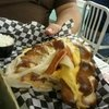 Park Grilled Cheese -- American on a soft Philly pretzel