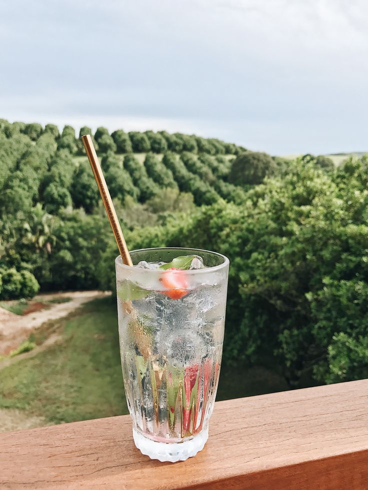 Pacific Gold straw in new Byron Bay gin