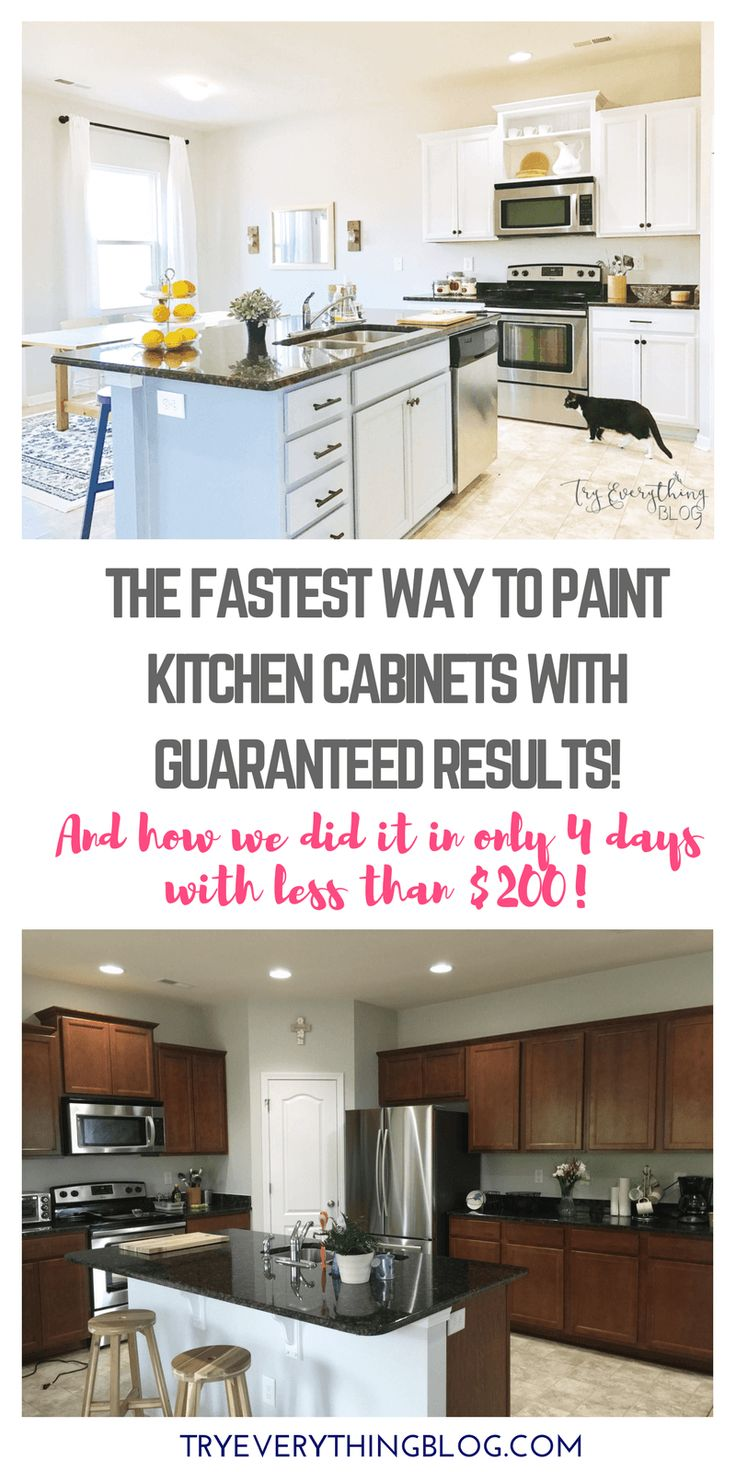 Kitchen Cabinets For Less 17 Best Ideas About Spray Paint Kitchen Cabinets On Pinterest