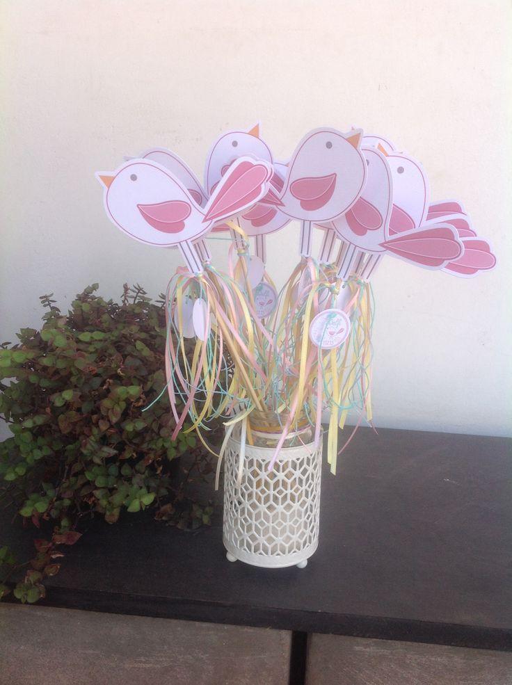 Pajaritos de papel para decorar!
