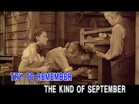 """[BEST VIDEO] The Fantasticks - Try To Remember Lyrics  """"I TRY EACH DAY MY HARDEST!"""" :) <3 IT IS SO NICE TO REMEMBER! :) <3"""