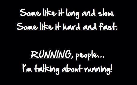 #running funny