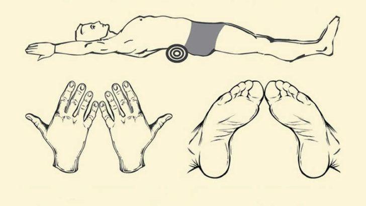 Bel ve Sırt ağrısı çekenlere 5 dakikada etki gösteren ilginç yöntem