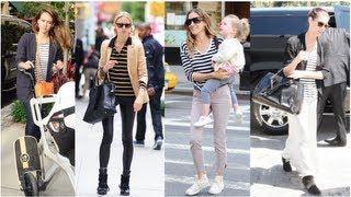 Celebrity Fashion, Stripes Trend, Fab Flash Celebrity Videos http://celebrity-videos.info/