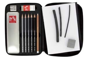 Caran D'Ache Graphite Line Book Drawing Set