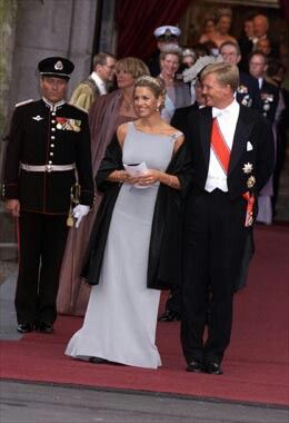Queen Maxima (then princess maxima of the netherlands)