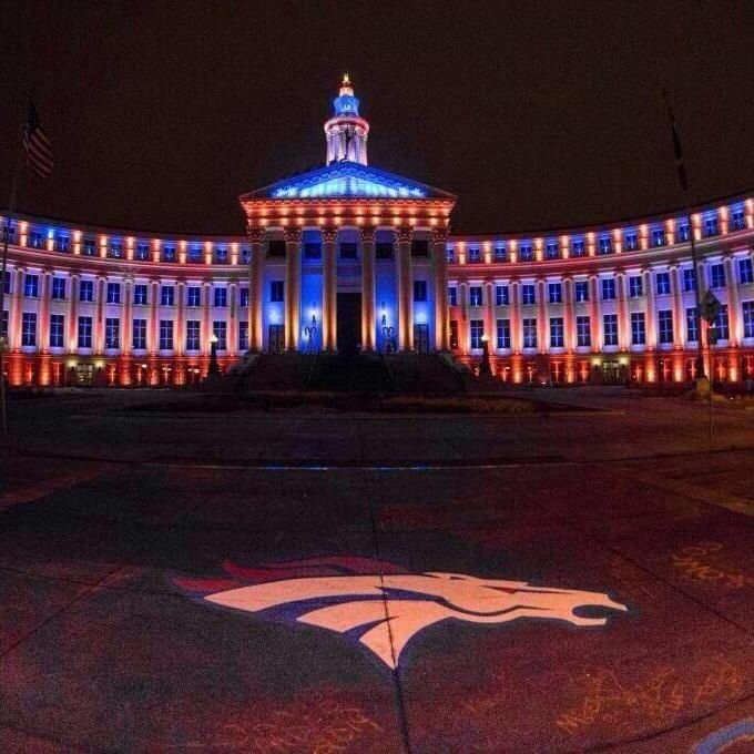 This is how We Do It a Mile High!! Proud Home of The Denver Broncos!!