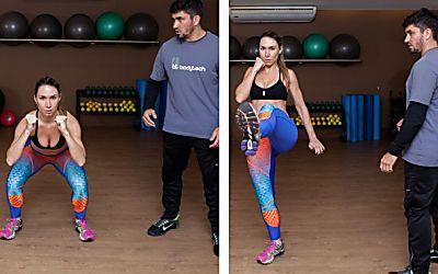 Desafio fitness: a última etapa do circuito funcional é com... luta!