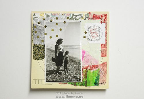 Golden start week 1 Collage no 6 Trip to moms place Collage made by iHanna #365somethings2018 #studioihanna