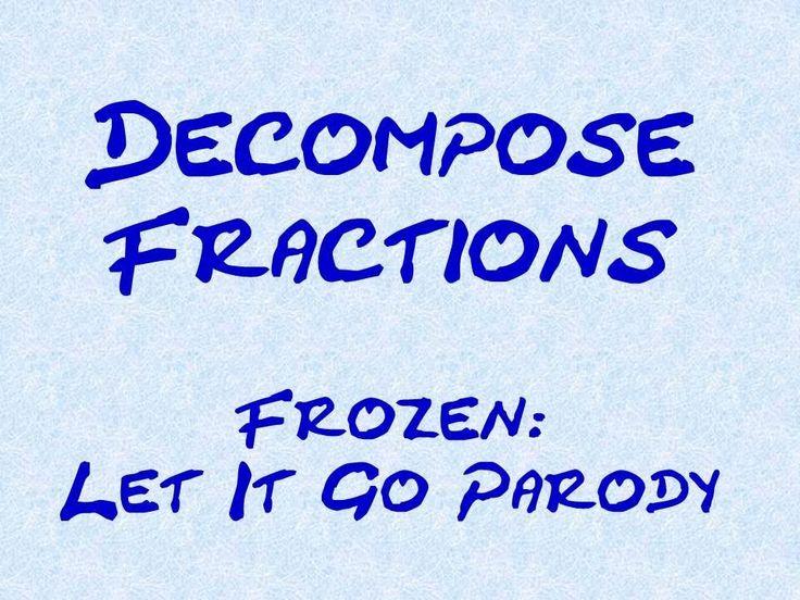 Let It Go Parody - Decompose