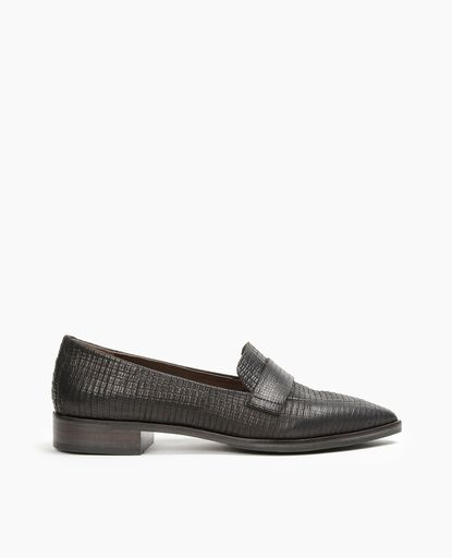 A modern take on a classic, the Ax is a pointed toe slip-on · Italian LeatherLoaferShoes  WomenTo