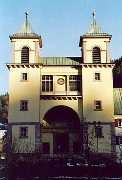 Bad Rippoldsau-Schapbach - Kirche im Weinbrenner-Stil.