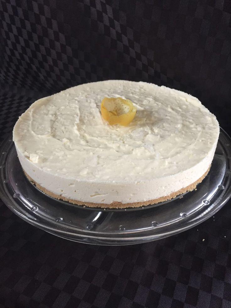 Food Files By Linda D: Lemon Cheesecake Recipe