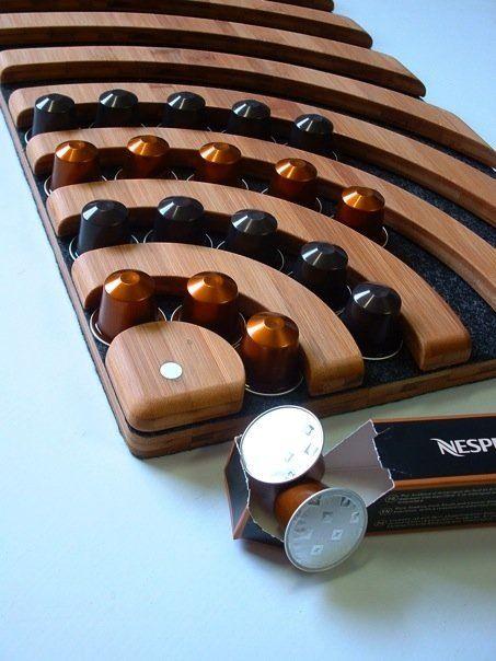 Nespresso capsule holder