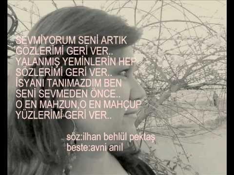ZEKİ MÜREN - SEVMİYORUM SENİ ARTIK  (DOYSAL)