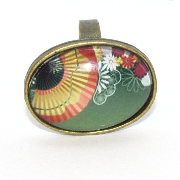 "Inel cabochon ""Oval Japanese"""