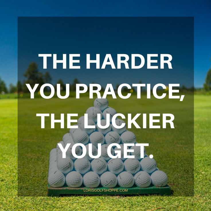 Find more Golf Quotes, Lessons, and Tips here #lorisgolfshoppe