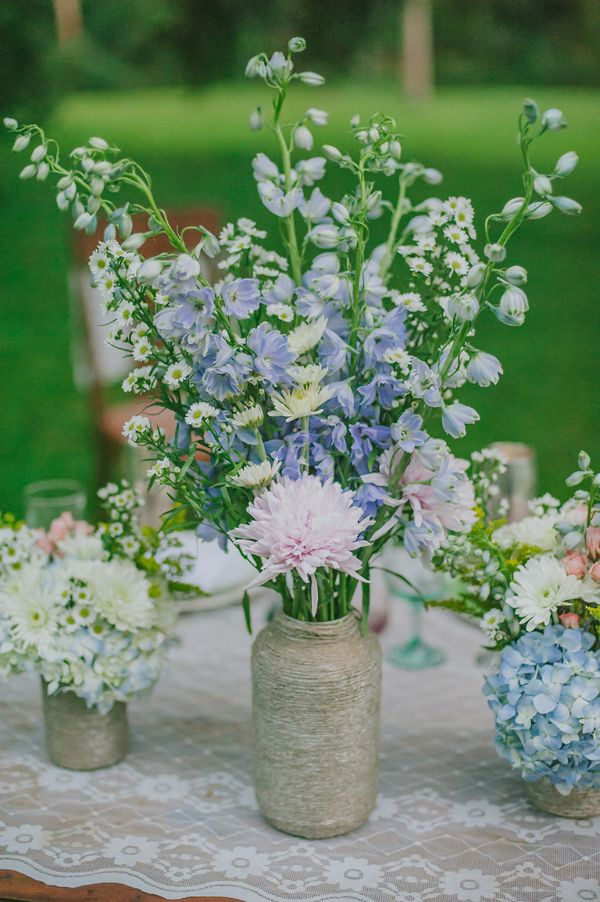 Best images about wildflower centerpieces on pinterest