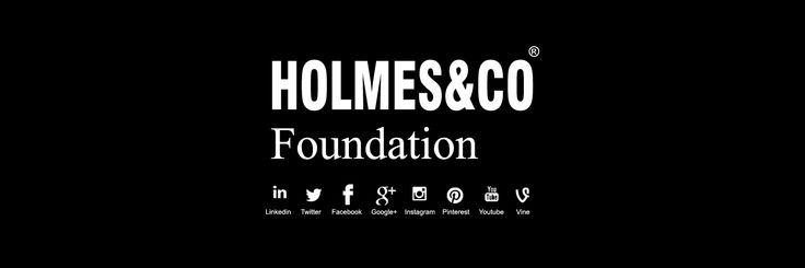 HOLMES&CO Foundation #Foundation #Trust #Charity #Philanthropy #Children #Future #Entrepreneur HOLMES&CO Foundation. Protecting & Nurturing Children's Welfare, Education, Heritage & Futures. Private Foundation by Founders @TheEdenBrand & @HOLMESCOLtd 2016 http://www.pinterest.com/HOLMESCOfndn