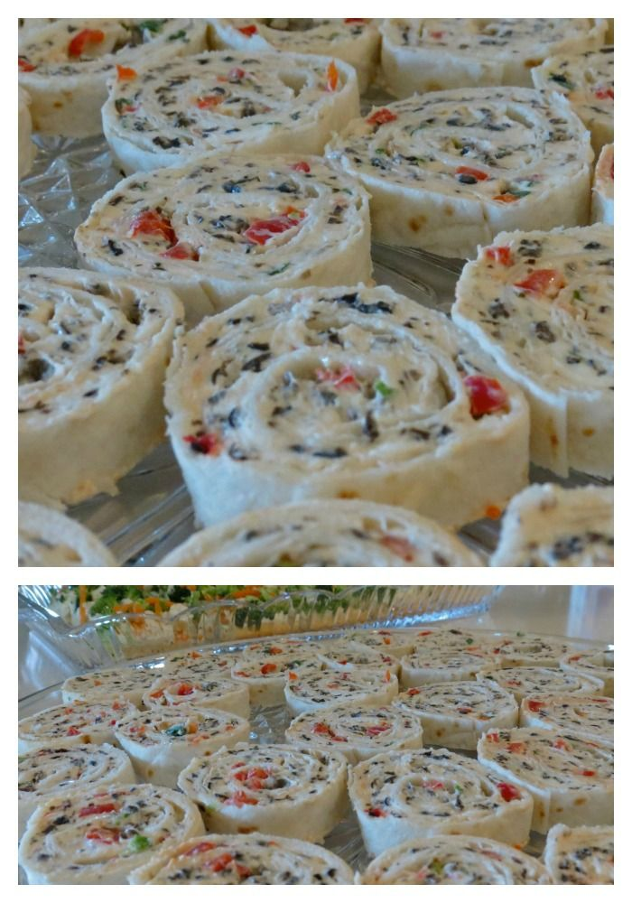 Cream Cheese Ranch Roll-ups: Quick and easy, these are perfect for holiday parties, and the first things to be eaten. #party #recipe #appetizer