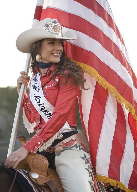 Rodeo Queen - see, she got the rodeo 'champeen' sash too, just like  Phoebe