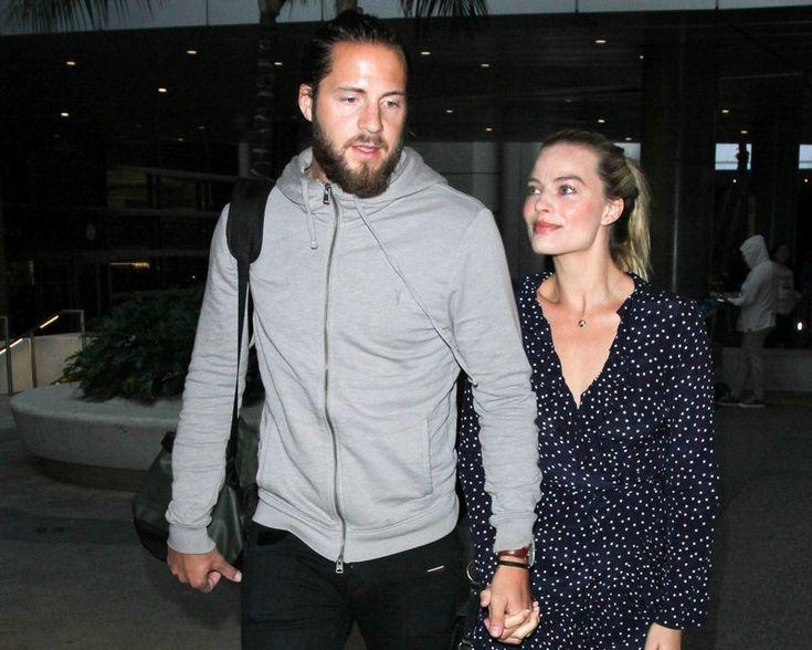Margot Robbie's family - husband Tom Ackerley