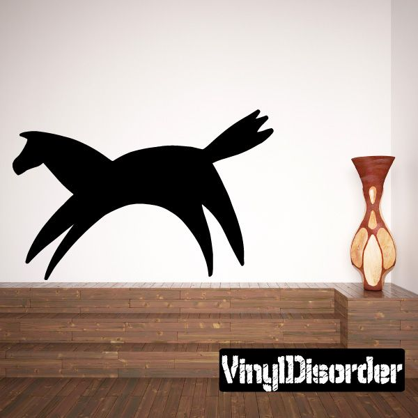 Horse Southwestern Wall Decal - Vinyl Decal - Car Decal - 034