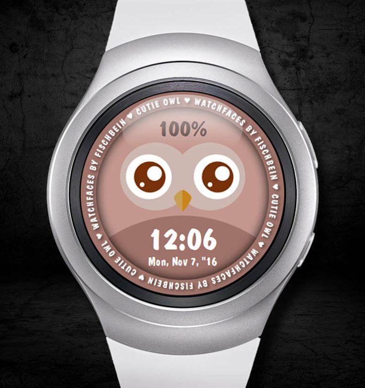 Cutie Owl 24h – Watchfaces by Fischbein