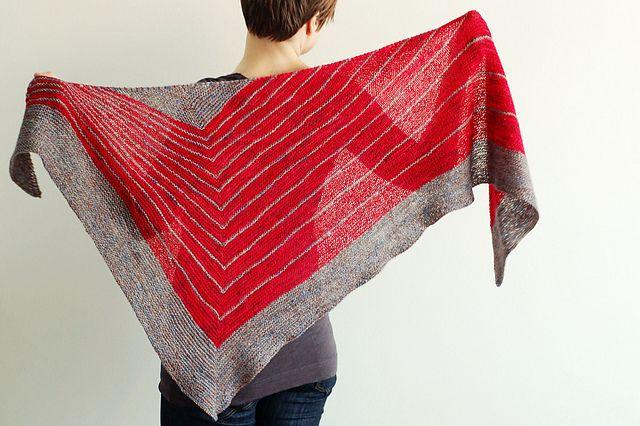 Ravelry: Stripe Study Shawl pattern by Veera Välimäki