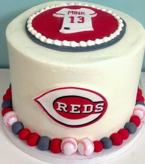 .Cincinnati Reds Cake