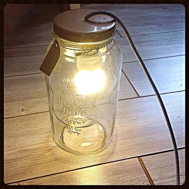 Capturer la lumière... Tuto lampe dans une mason jar Cam&Drey bricolent...