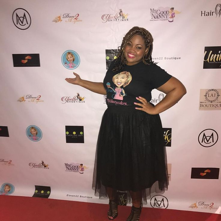 #Repost @mydaintycakes (@get_repost)  ・・・  When your logo is on the back drop and you didn't know it! 😍 #mydaintycakes #dare2aspire #cupcakes #houstonbaker #women #womensevents #htown #houston