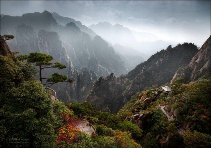 Горная цепь Хуаншань, Китай