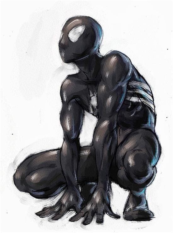 Black suit..