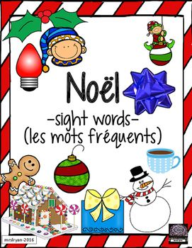 Use these 31 French flashcards to help your students learn words about Noel!  Included are 8 pages that can be used either as posters in the classroom or cut up to be individual word wall flashcards.  Use all 31 vocabulary cards or choose the ones you wish your class to use.
