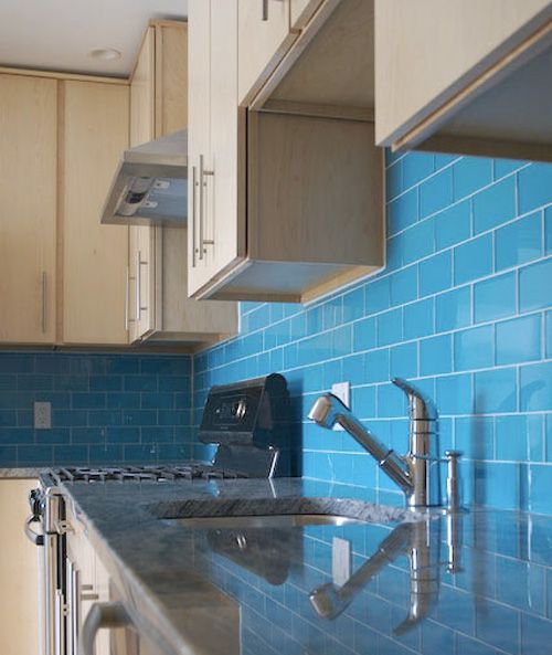 Subway Tiles   Subway tiles, Blue tiles and Apartment therapy