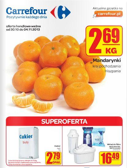 Carrefour otwiera sezon na mandarynki! Tęskniliście? :) http://www.promocyjni.pl/gazetki/11681-superoferta-gazetka-promocyjna