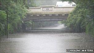 Mossley Hill bridge
