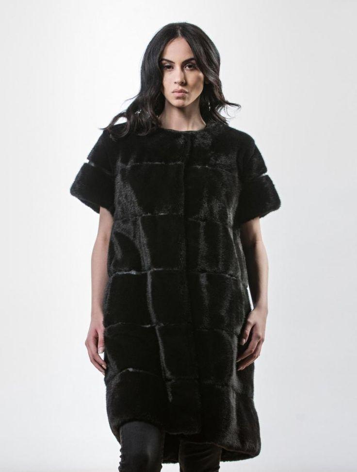 Black Mink Black Fur Vest     #black #mink #fur #vest #real #style #realfur #elegant #haute #luxury #chic #outfit #women #classy #online #store mink,