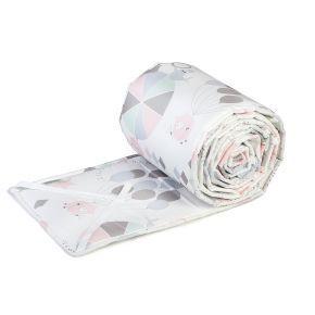 Ng baby spjälskydd  Circus rosa  429 kr   Passar spjälsängar med bäddmått 60x120 cm. 25 cm högt.