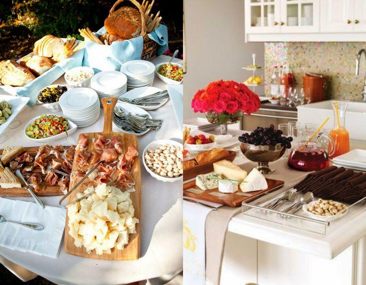 Realizando um Sonho | Blog de casamento, casa e maternidade: Almoço ou jantar ao estilo americano | Recebendo Visitas
