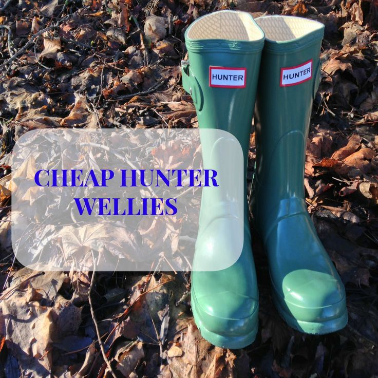 CHEAP DESIGNER HUNTER WELLIES (UNDER £35 DELIVERED)