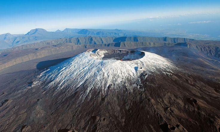Piton de la Fournaise volcano La Réunion