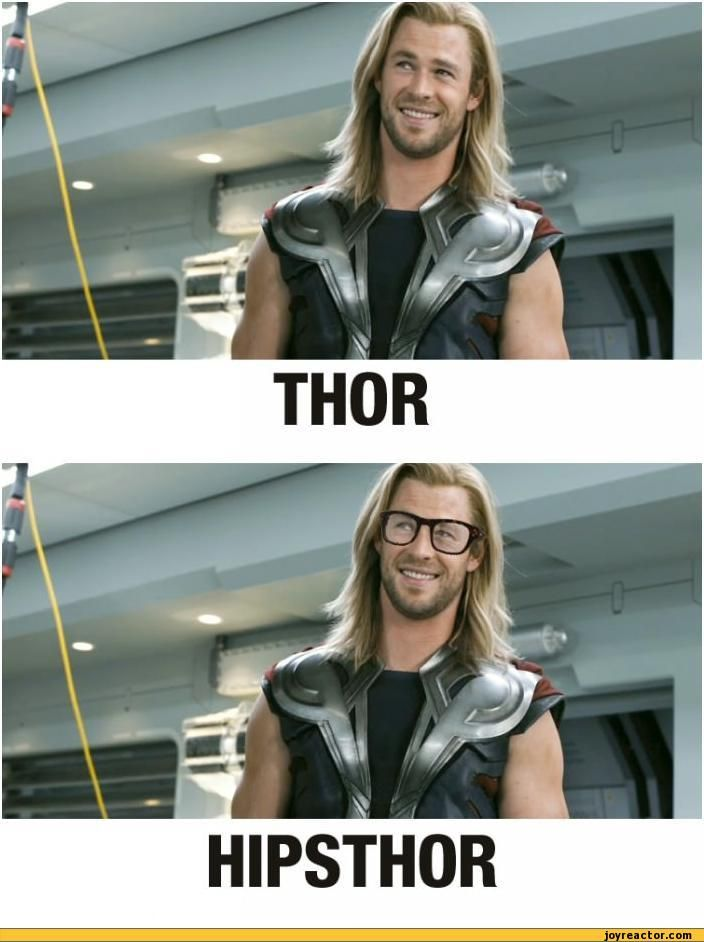 hipster jokes | aoHisdiH aoHi / thor hipster / funny pictures & best jokes: comics ...