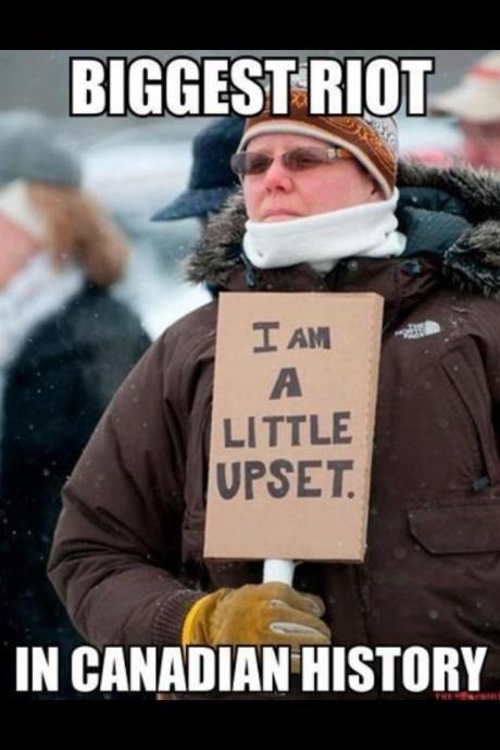 Anarchy in Canada - Meme Picture @KD Eustaquio Mossman lolllllll