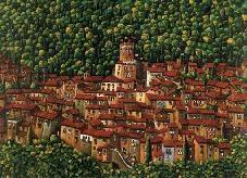 Elio Nava, Il borgo di Arcidosso