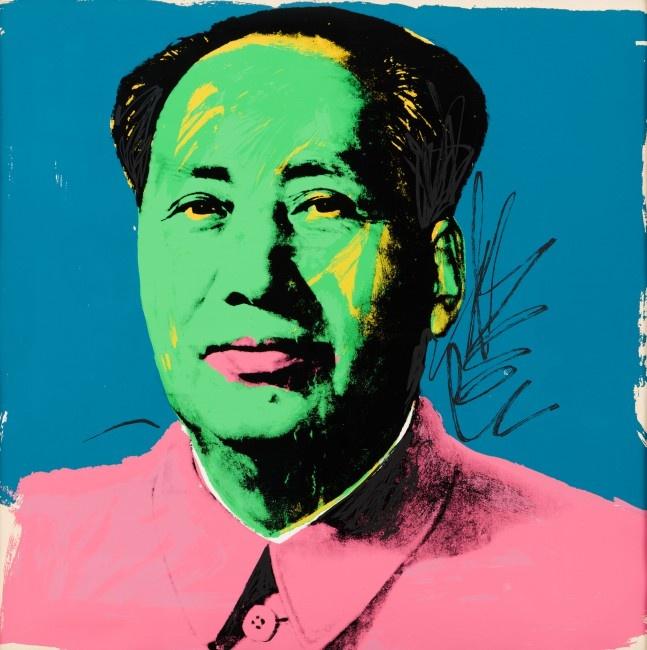 Andy Warhol, Mao 1972 © Halcyon Gallery